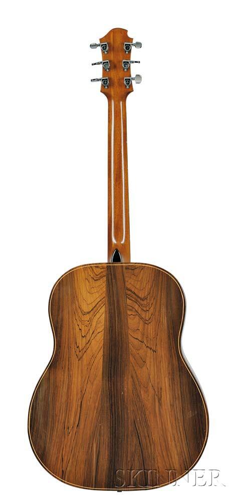 A C Zemaitis Custom Acoustic Guitar 1970 Sale Number