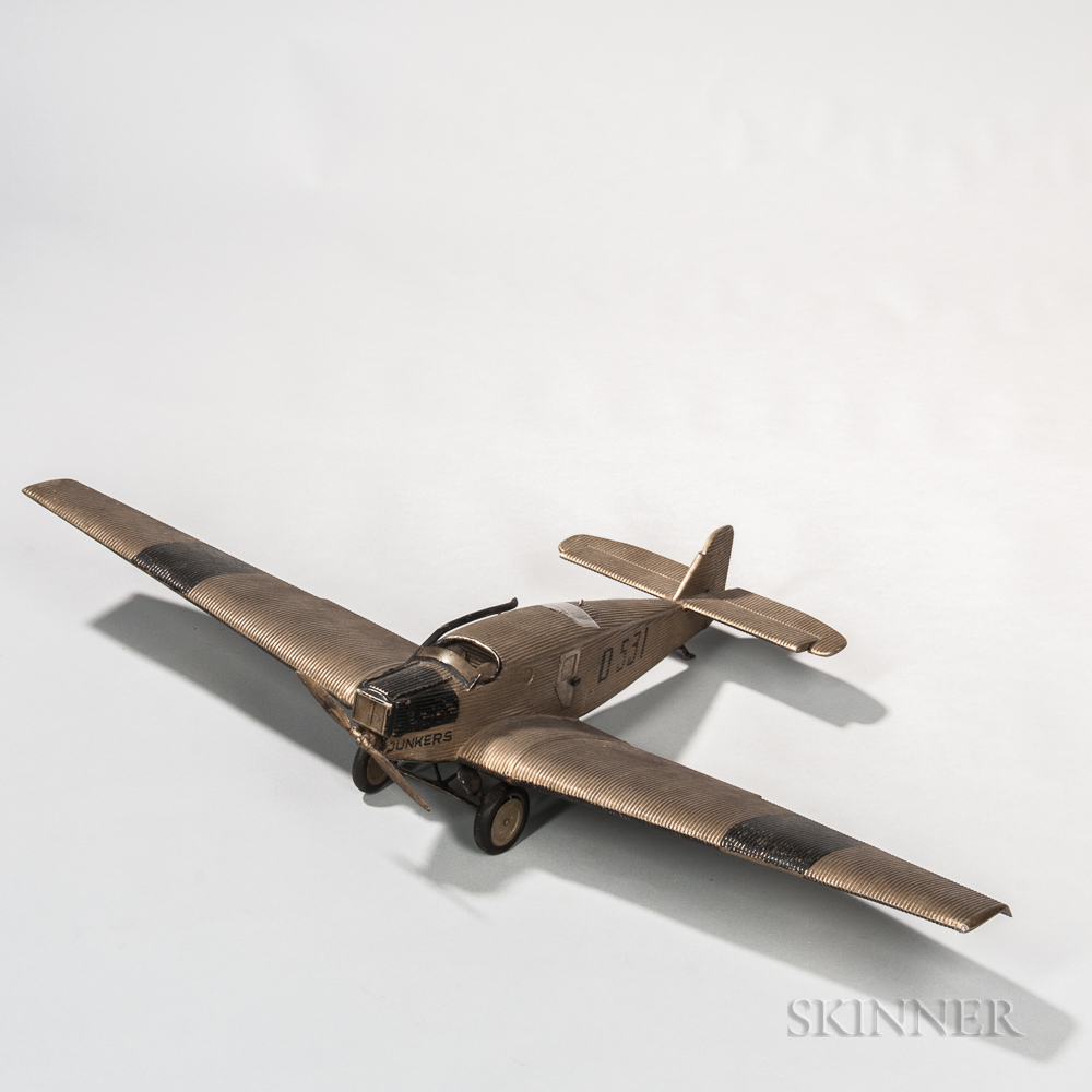 Junkers F13 Aviation Model and Keepsake Box