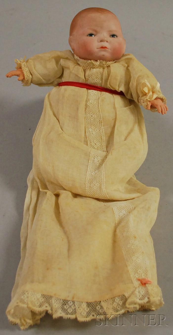 Grace S. Putnam Bisque Head Bye-Lo Baby Doll