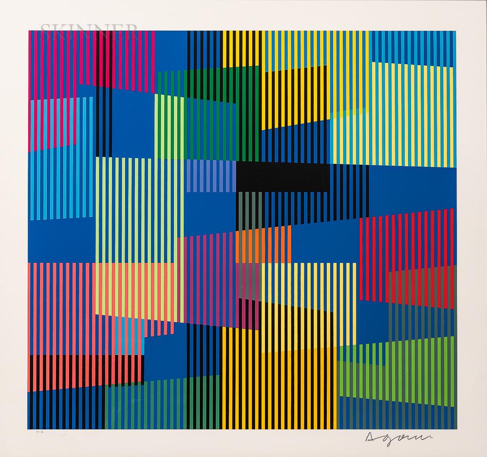 Yaacov (Jacob Gipstein) Agam (Israeli, b. 1928)      Untitled