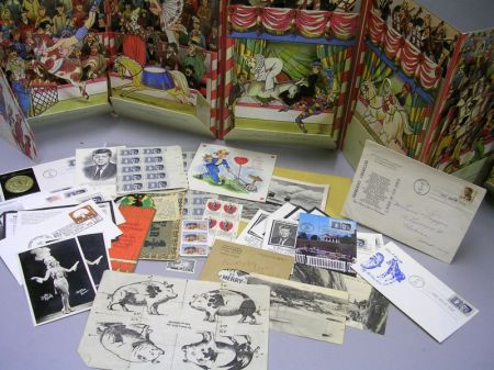 Group of Ephemera and Collectibles