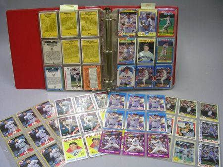 Collection of Three Boston Red Sox Players Baseball Cards