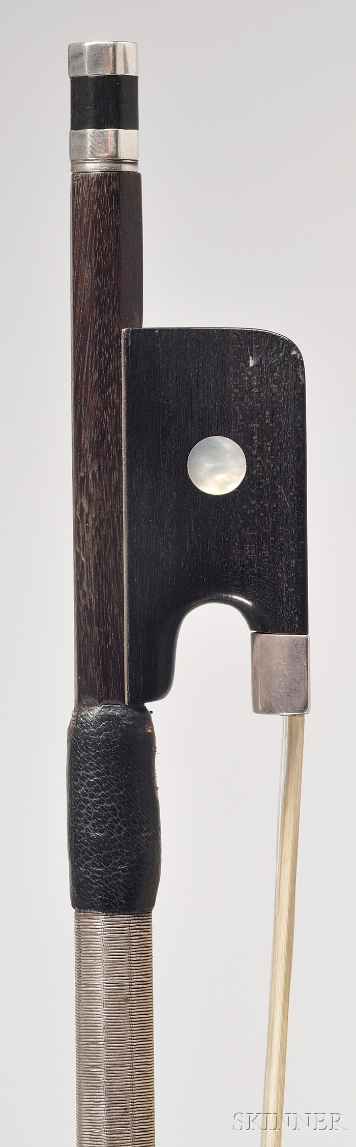 Silver Mounted Viola Bow