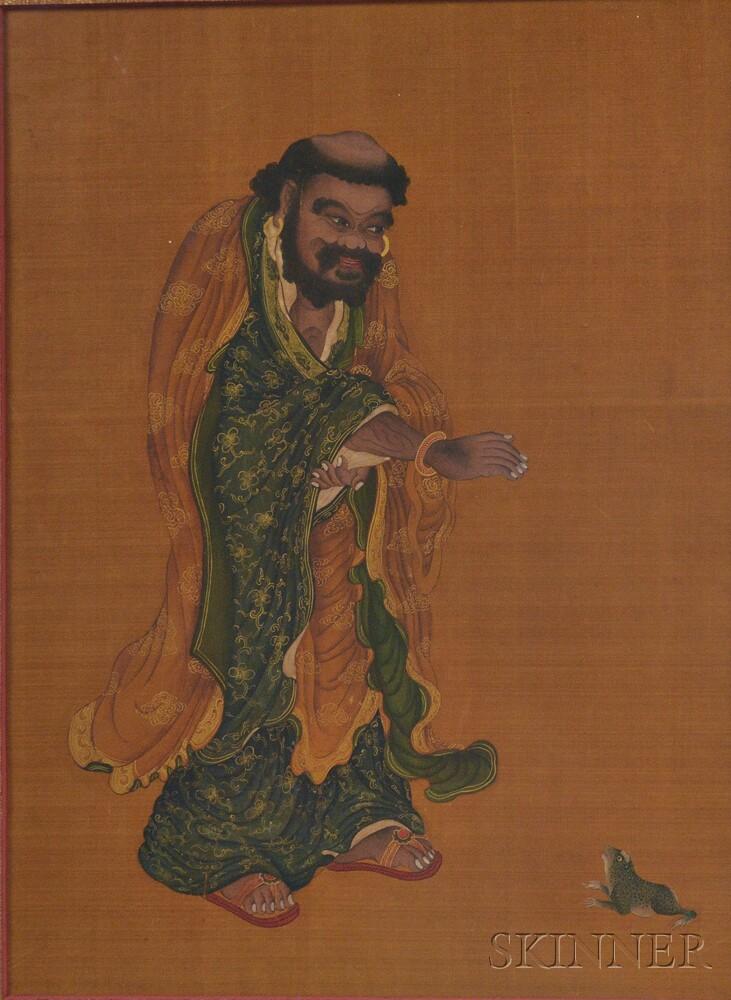 Painting of Liu Hai