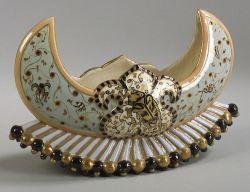 Emile Galle Art Pottery Centerpiece