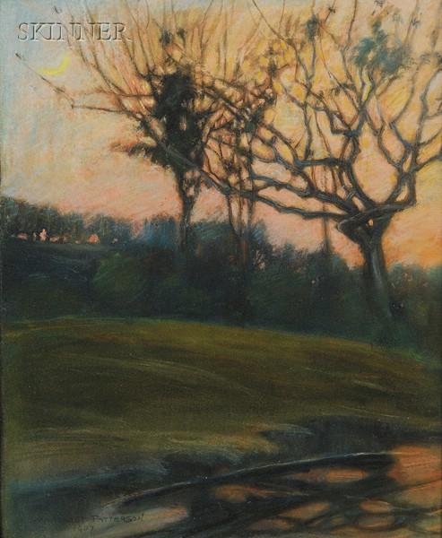 Margaret Jordan Patterson (American, 1867-1950)      Early Evening