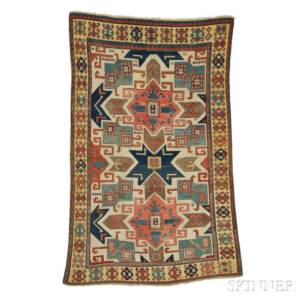 Sold For 35 670 Star Kazak Rug