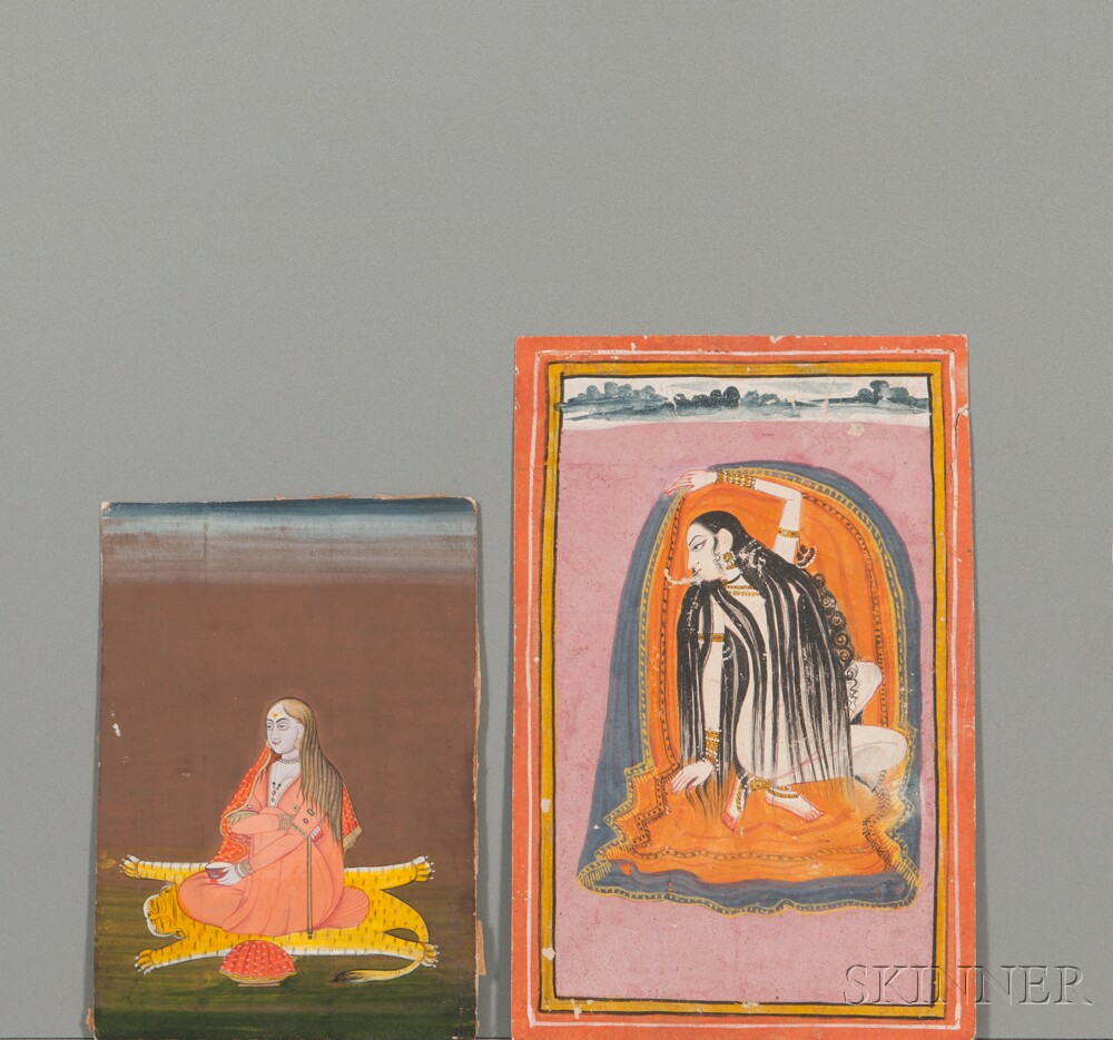 Two Miniature Paintings