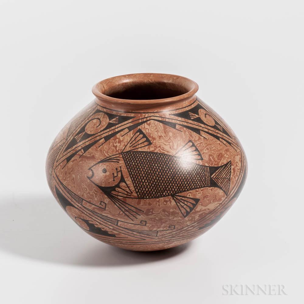 Contemporary Casas Grande Seed Jar