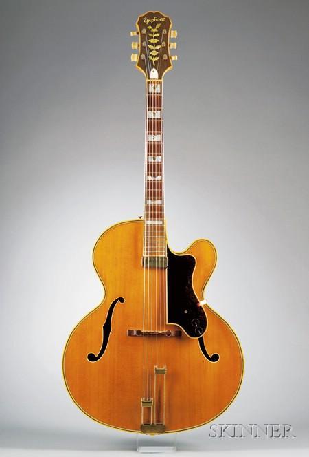 American Guitar, Epiphone Incorporated, New York, 1953, Model Zephyr Emperor