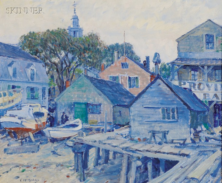 Clifford Warren Ashley (American, 1881-1947)      Provincetown Bar and Bakery