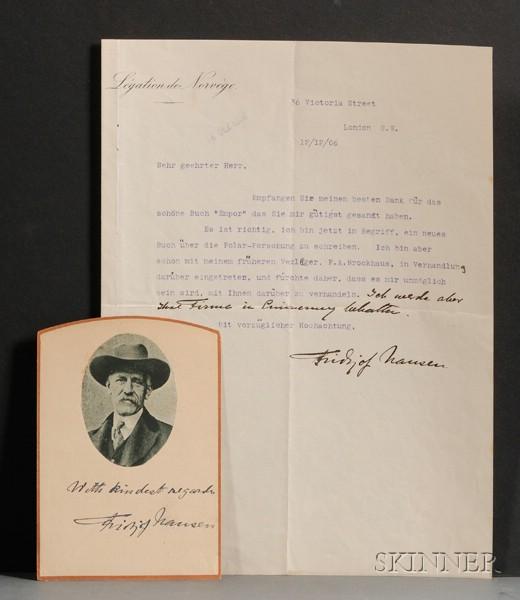 Nansen, Fridjof (1861-1930)