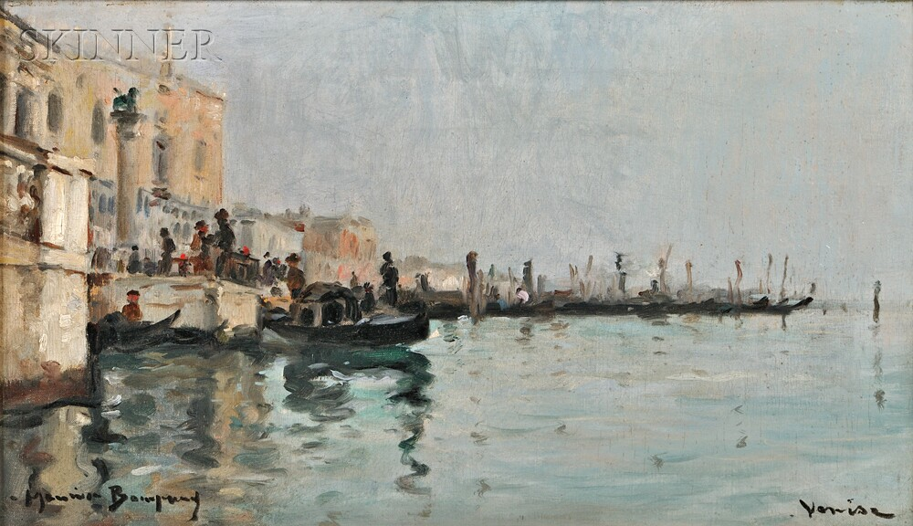 Maurice Bompard (French, 1857-1936)      Venise