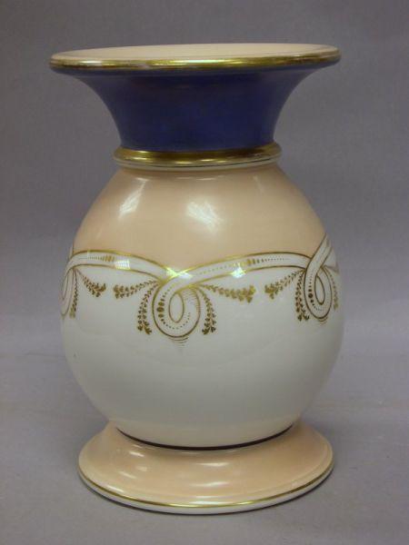 Paris Porcelain Baluster-form Vase.