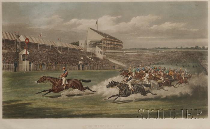 After Henry Alken (British, 1785 –1851)      The Winning Post