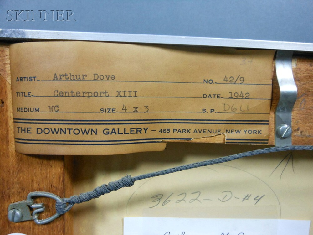 Arthur Garfield Dove (American, 1880-1946)      Centerport XIII