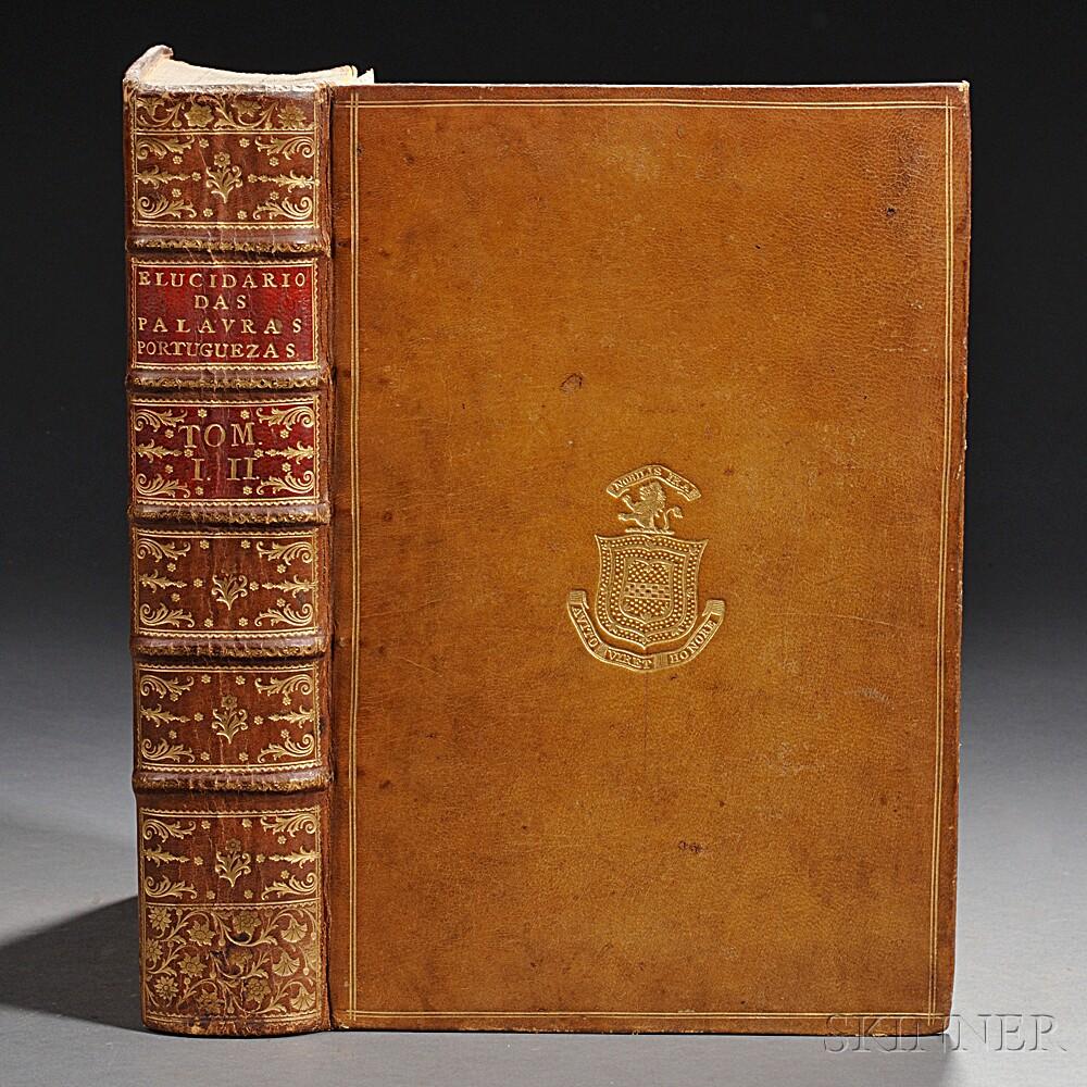Viterbo, Joaquim de Santa Rosa de (1744-1822) Elucidario das Palavras, Termos, e Frases, que em Portugal Antiguamente se Usarao, e que