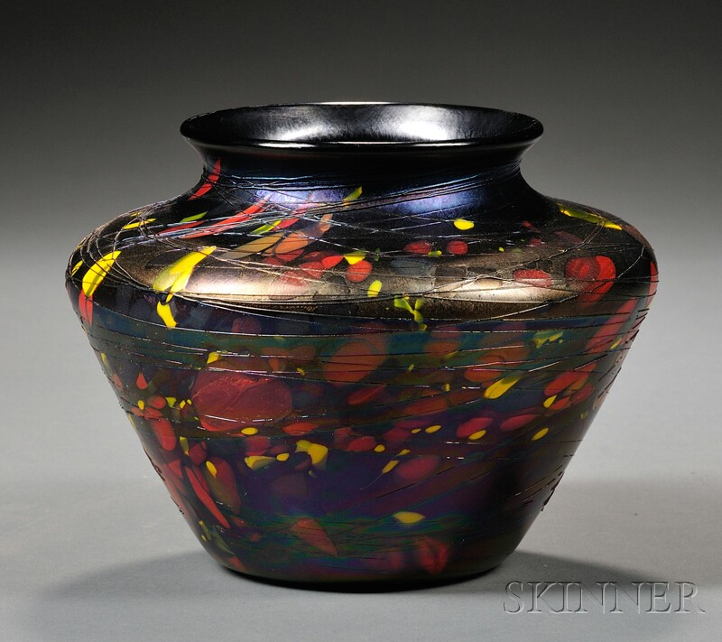 Rare Fenton Mosaic Vase