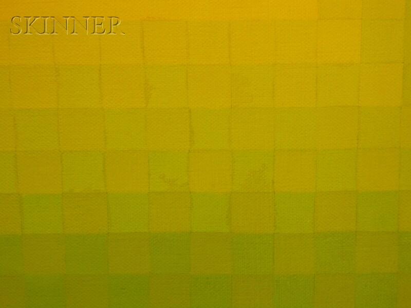 Hannes Beckmann (German/American, 1909-1976)      Dominant Yellow
