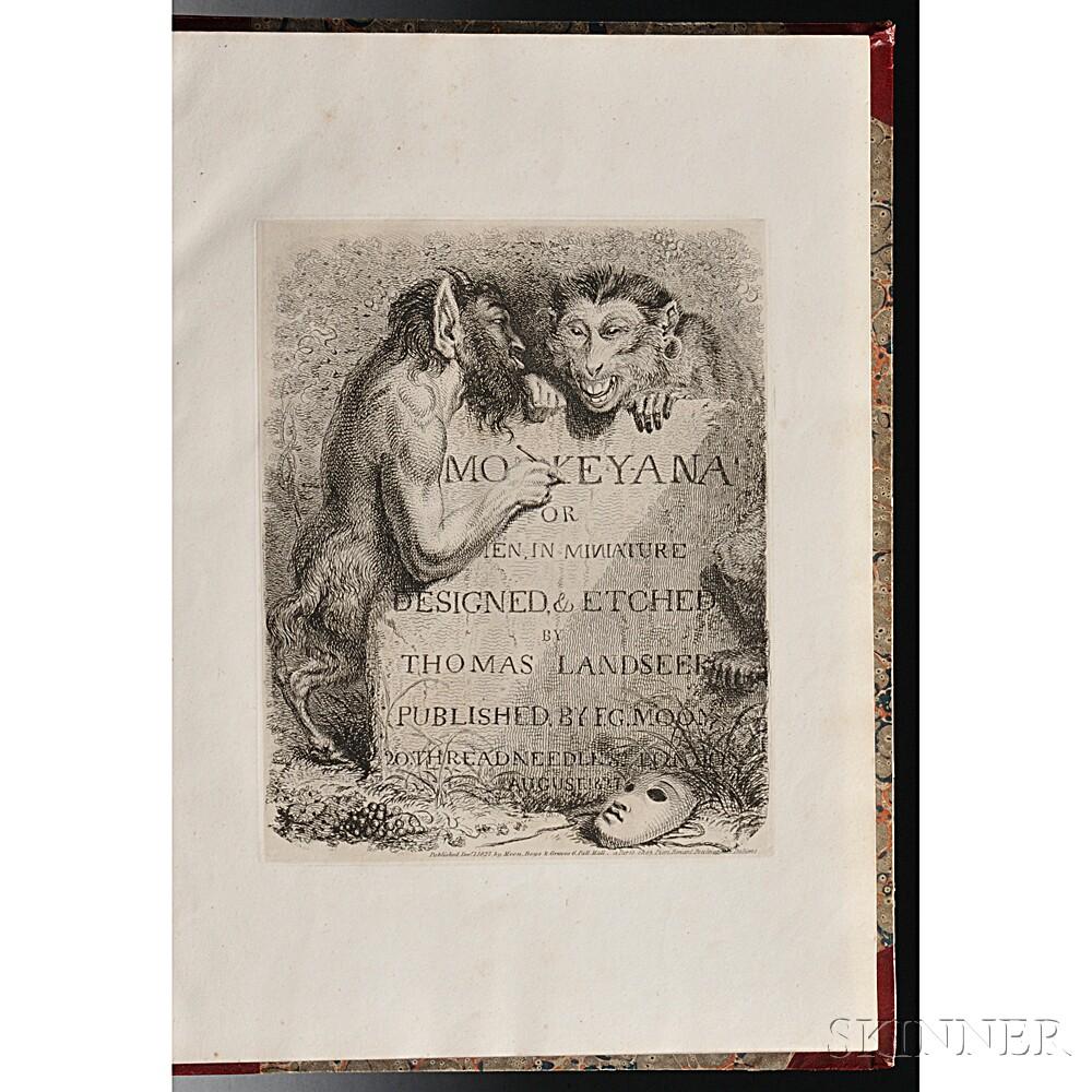 Landseer, Thomas (1793-1880) Monkey-ana or Men in Miniature