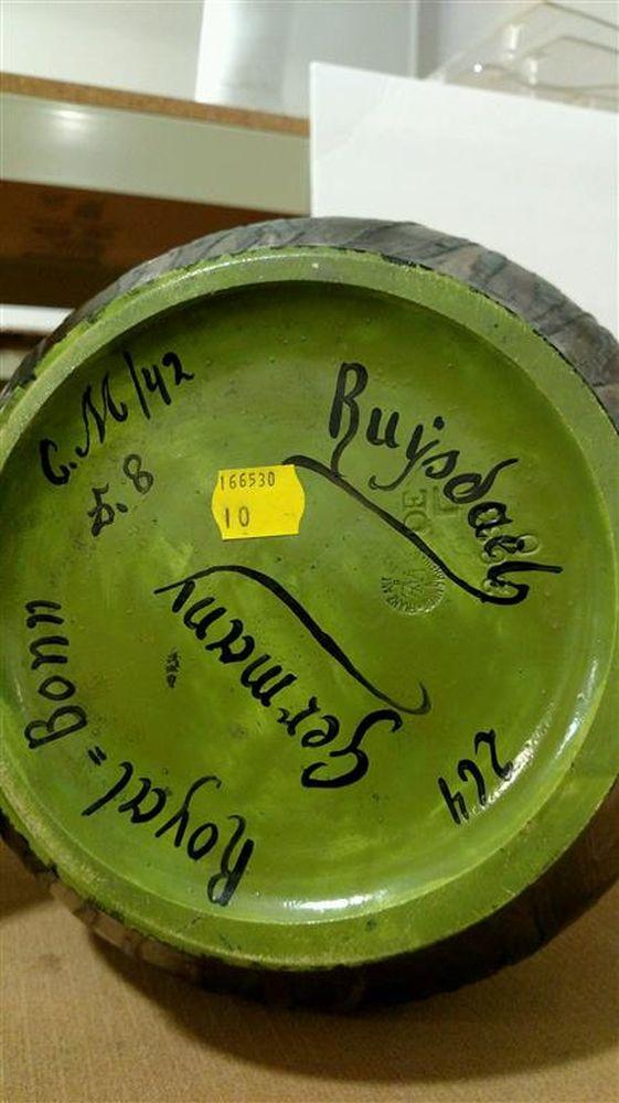 Royal Bonn Porcelain Ruysdael Vase Sale Number 2975b Lot Number 499 Skinner Auctioneers