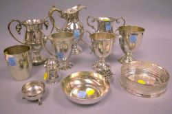 Eleven Silver Plate Tablewares