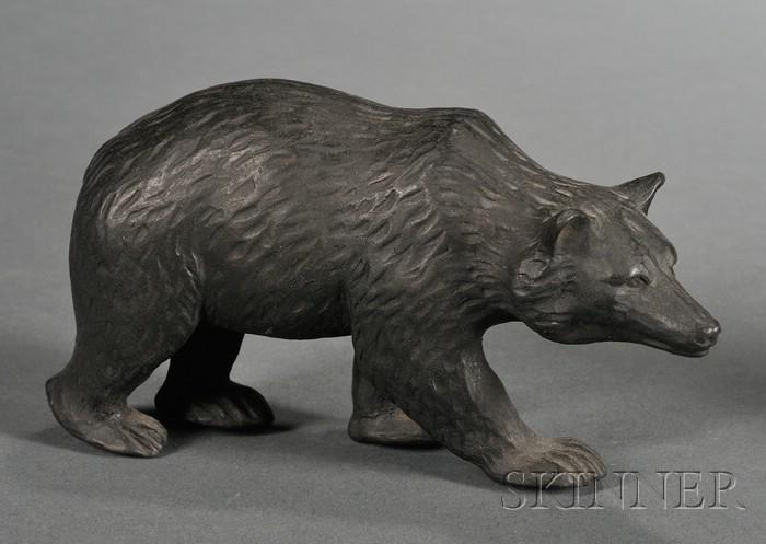 Wedgwood Black Basalt Bear
