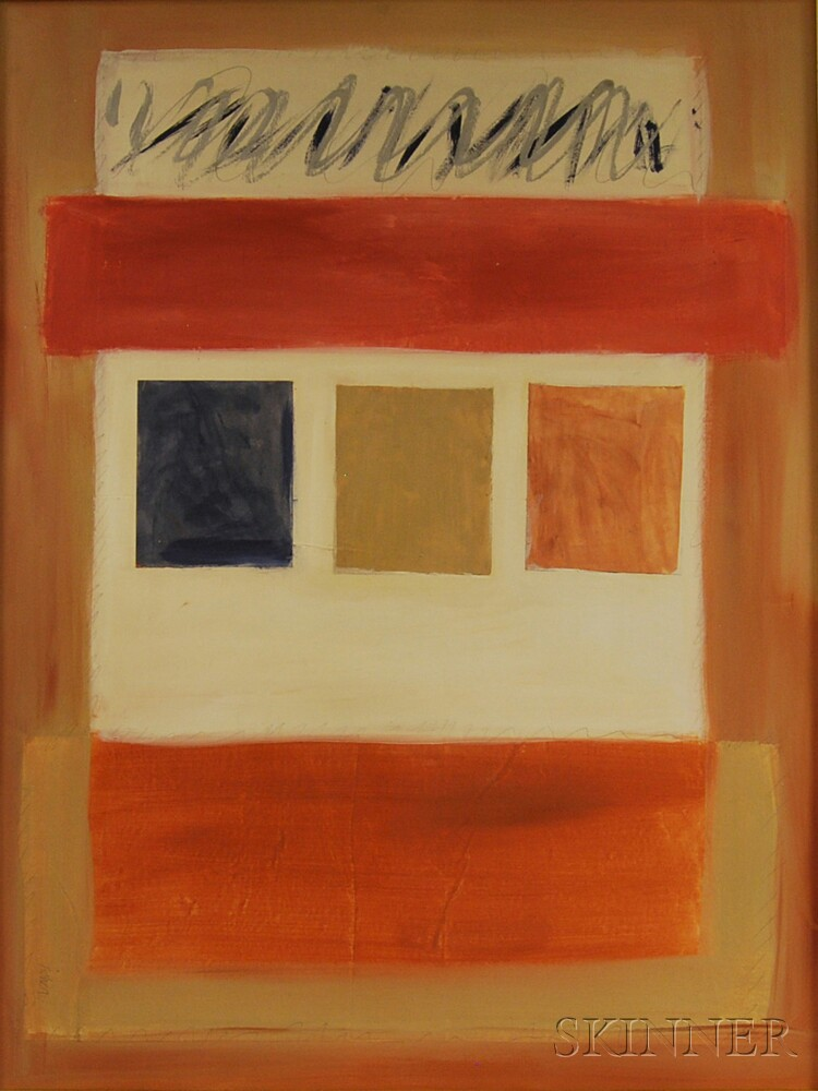 American School, 20th Century      Abstract Composition.