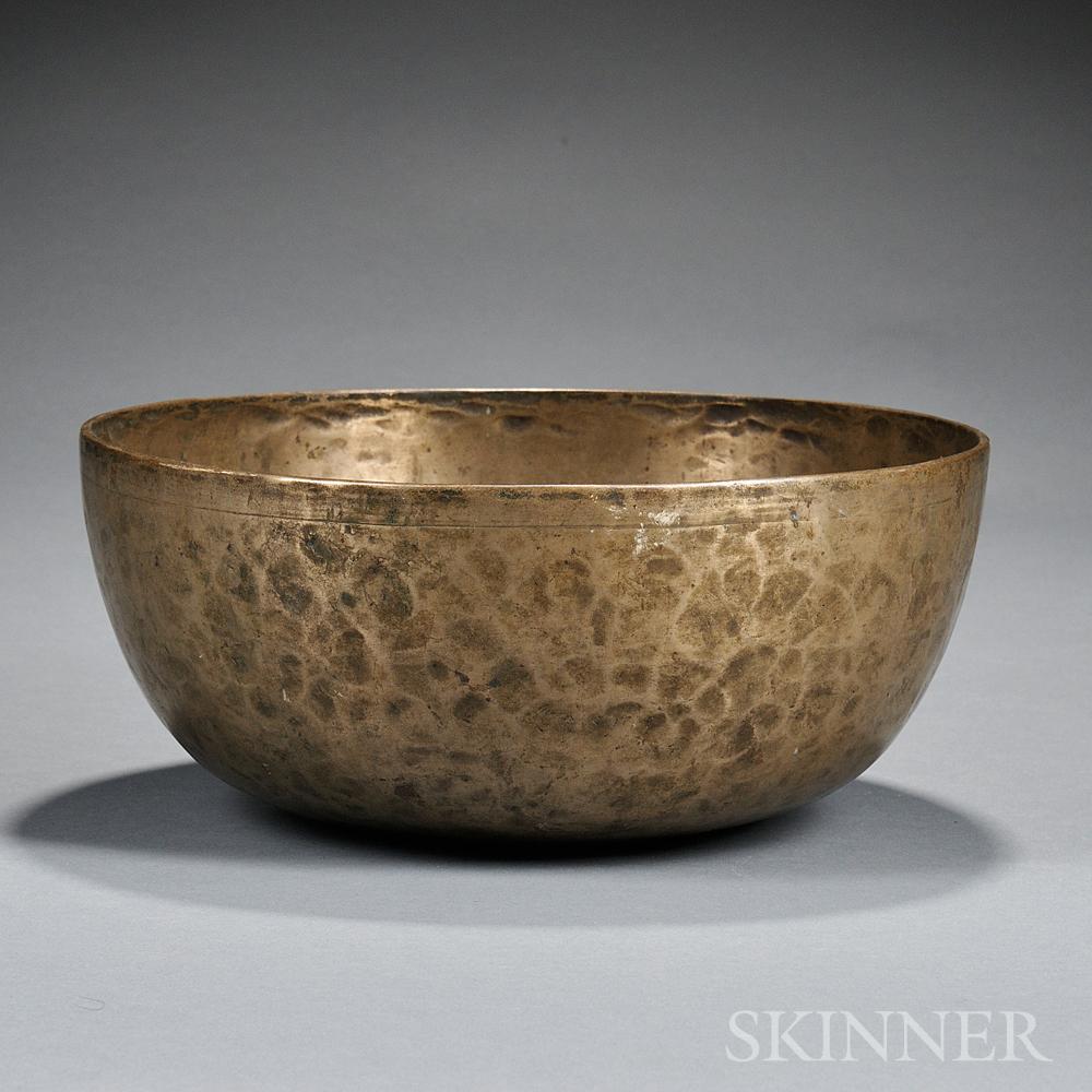 Brass Alms Bowl