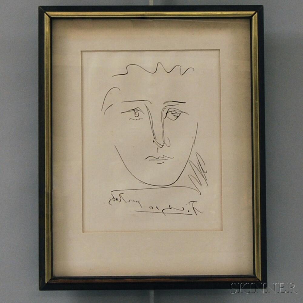 Pablo Picasso (Spanish, 1881-1973) L\'age de soleil (pour Roby ...