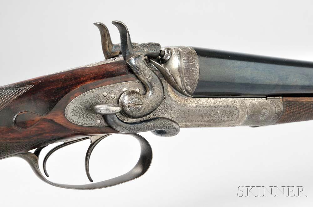 Boss & Company 12 Gauge Side Lever Bar-action Double-barrel Hammer Gun