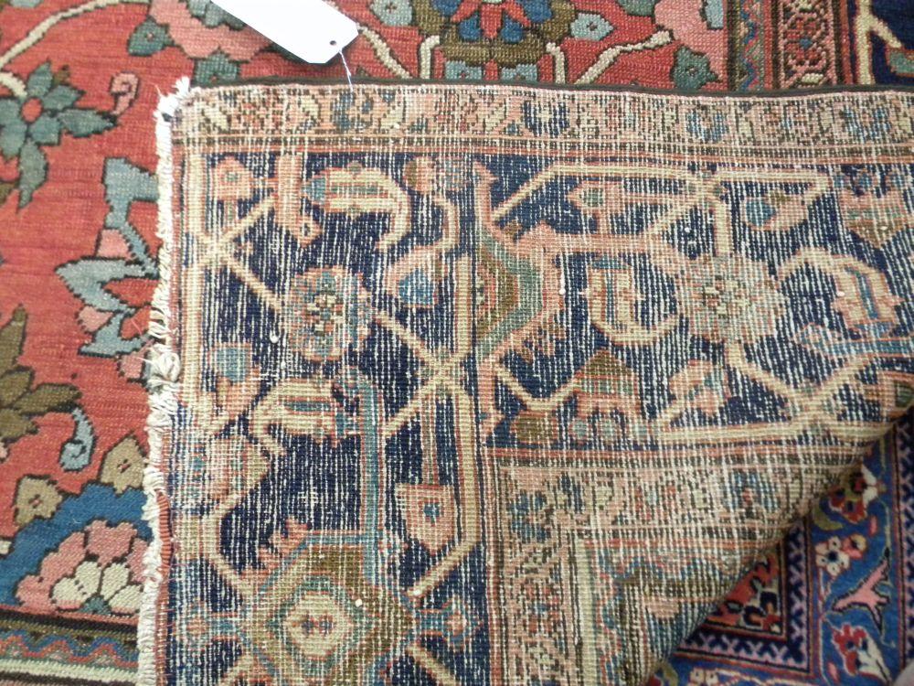 Antique Serapi Carpet