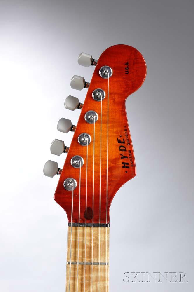 Hyde Custom Electric Guitar, c. 1990