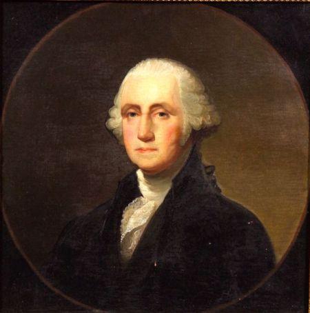 Jane Stuart (American, 1812-1888)    Portrait of George Washington
