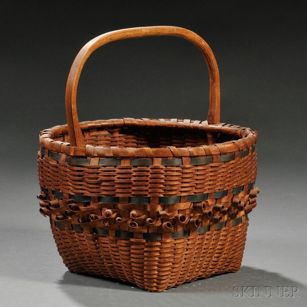 Woven Splint Basket