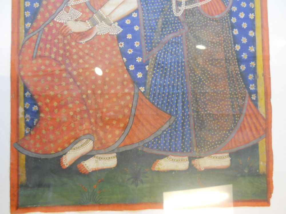 Painting Depicting Two Dancers