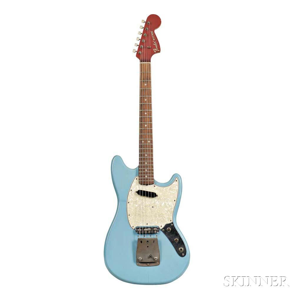 Leo Fender     Fender Musicmaster II/Mustang Prototype Electric Guitar, 1967