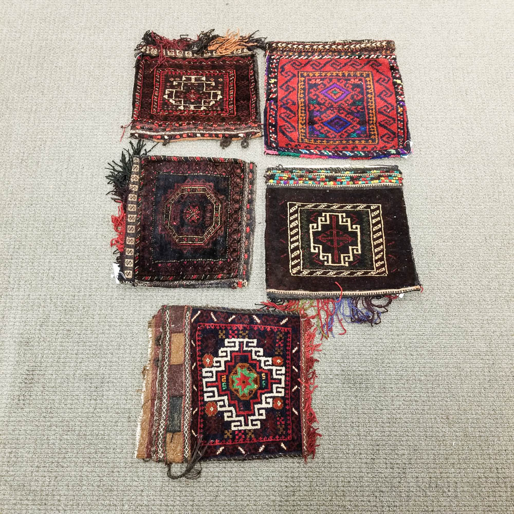 Five Baluch Bags