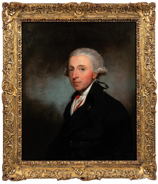 Gilbert Stuart (American, 1755-1828)      Portrait of a Man, Said To Be Theophilus Jones (1759-1812)