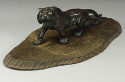 Bronze Figure of a Tiger
