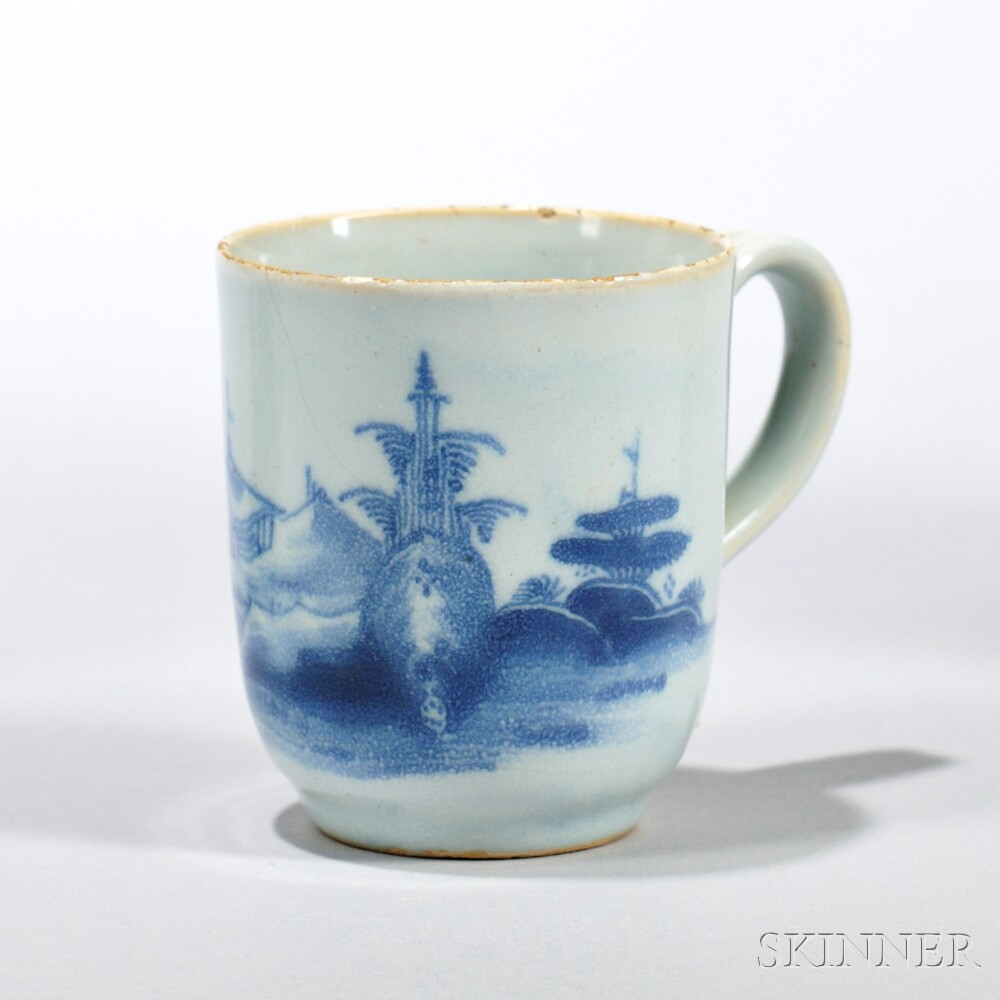 Tin-glazed Earthenware Cathay   Coffee Cup