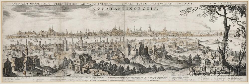 Constantinople, Damascus, Paris: Three Views.