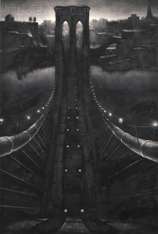 Richard C. Harden (American, b. 1956)      Brooklyn Bridge