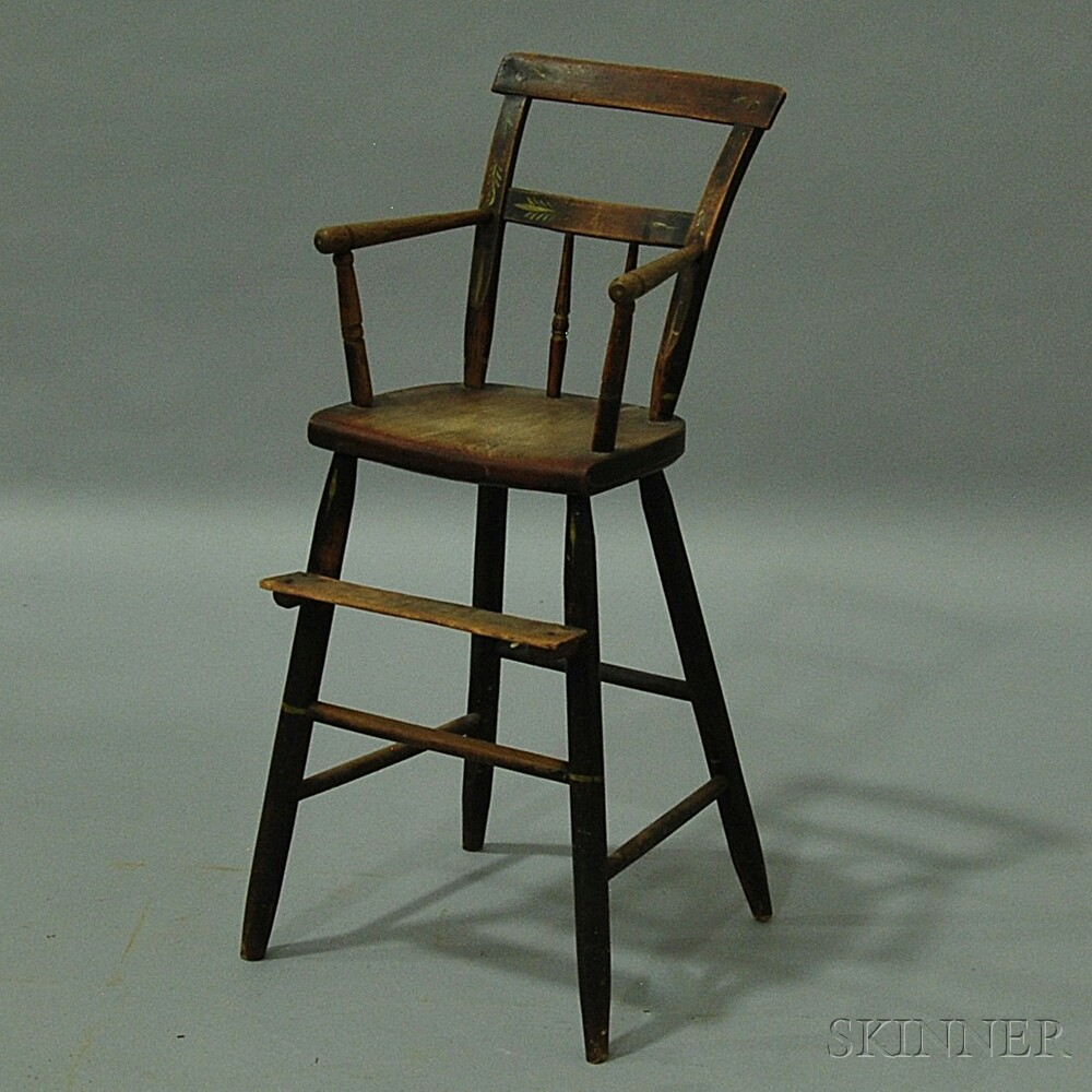 Painted Windsor High Chair