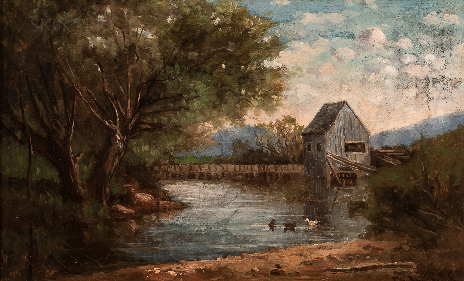 Frank Henry Shapleigh (American, 1842-1906)      Old Mill