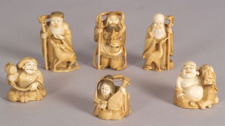 Seven Ivory Carvings