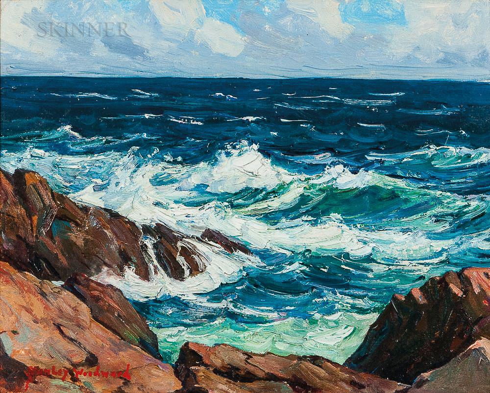 Stanley Wingate Woodward (American, 1890-1970) Landscape