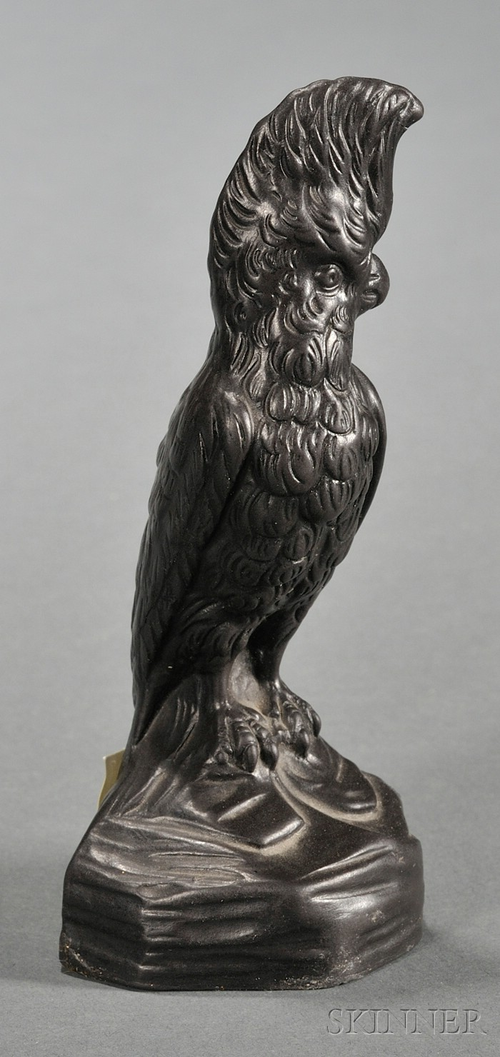 Wedgwood Black Basalt Cockatoo