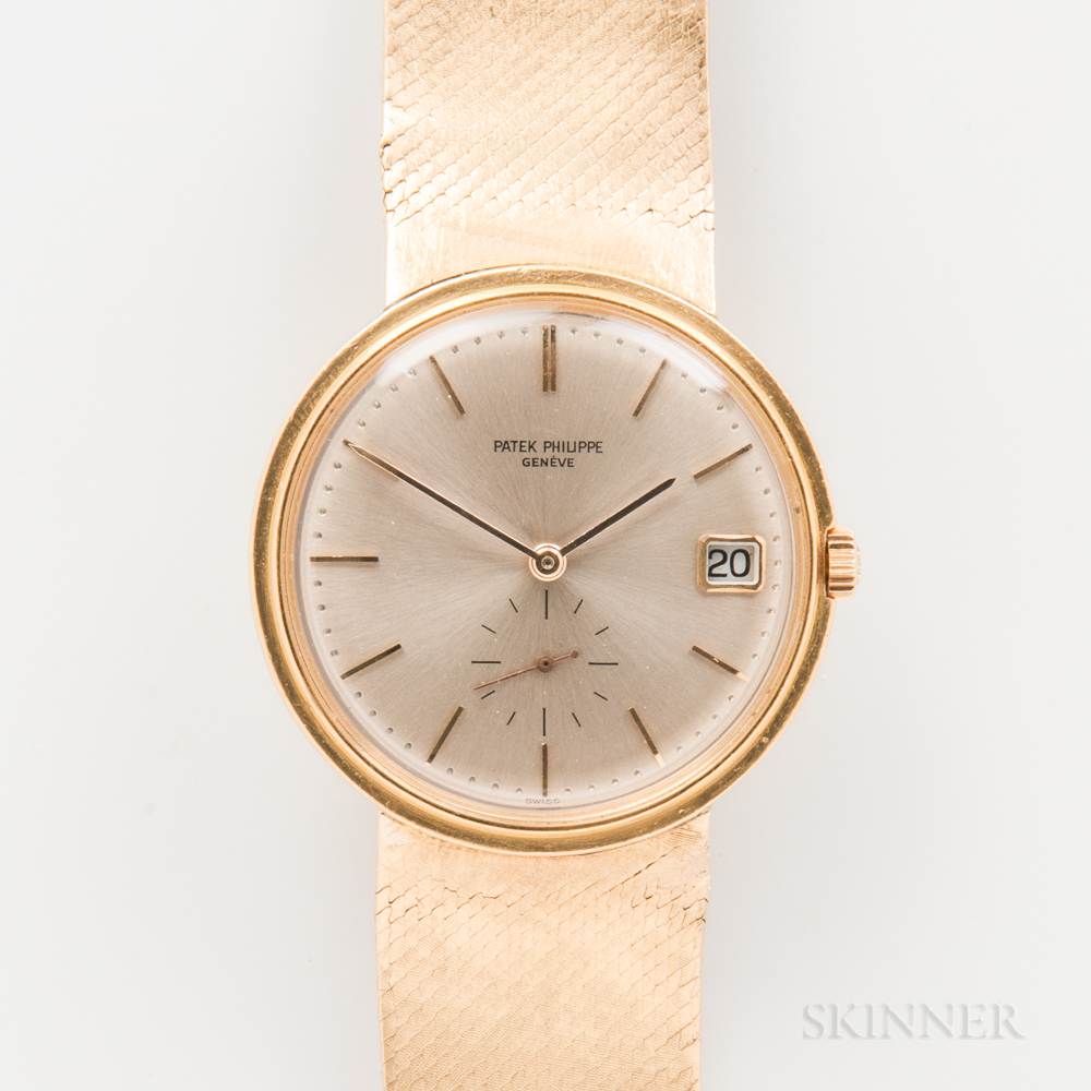 Patek Philippe & Co. 18kt Gold Reference 9445 Automatic Wristwatch