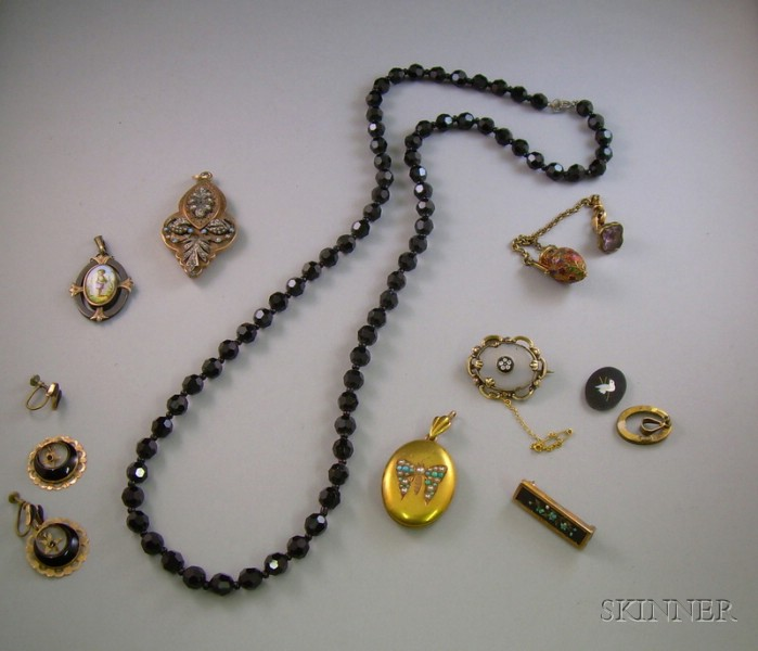 Group of Assorted Victorian Estate Jewelry
